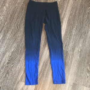 SO Navy/Blue Ombre Leggings